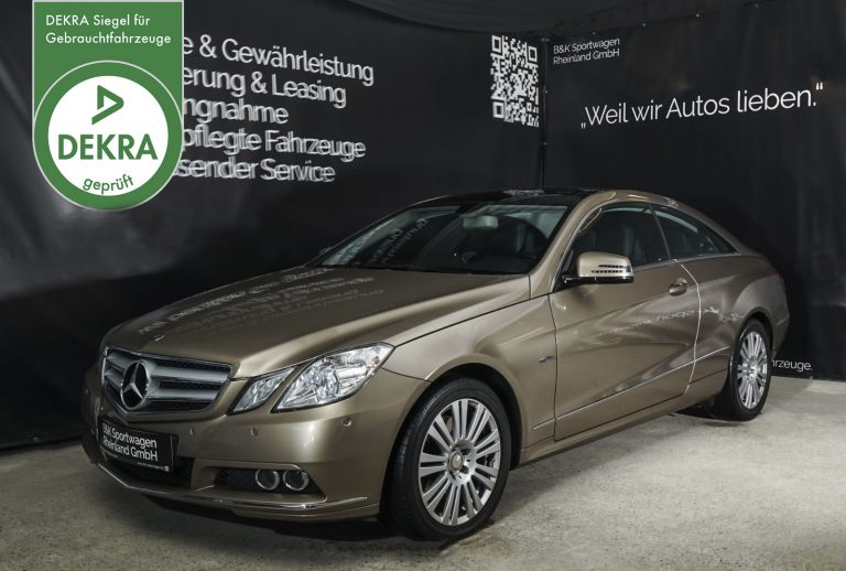 MercedesBenz_E350_Coupe_GoldSilber_Schwarz_MB-2916_2_w_dekra