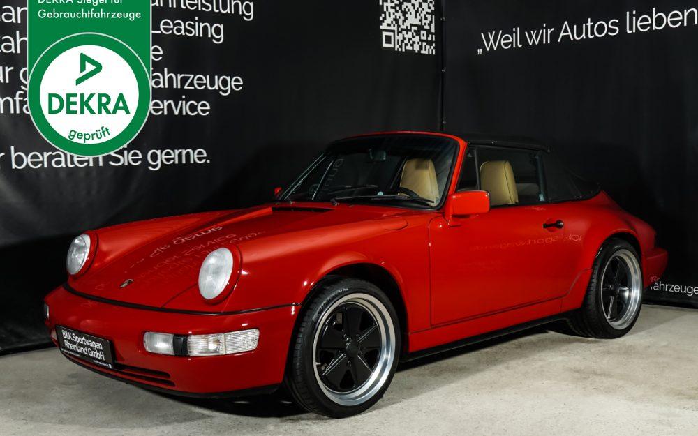 Porsche_964_Cabrio_Rot_Beige_POR-0915_Plakette_w