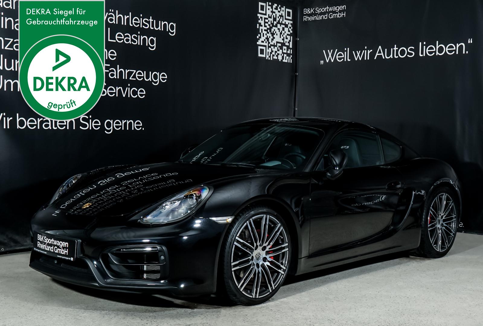 Porsche_Cayman_GTS_Schwarz_Schwarz_POR-1361_Plakette_w